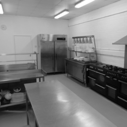 Our Kitchens and Prep area