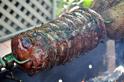 Spit Roasted Steer